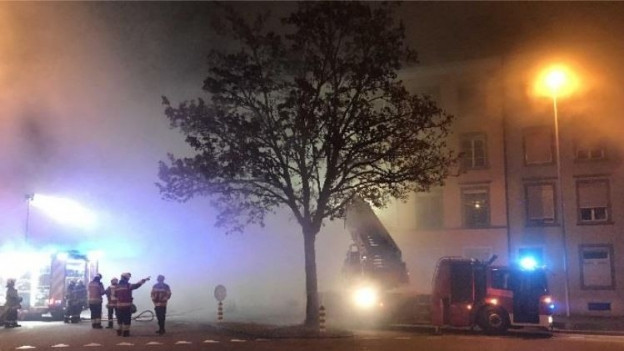 Der Brand brach in der Nacht aus, als viele Hausbewohner schliefen