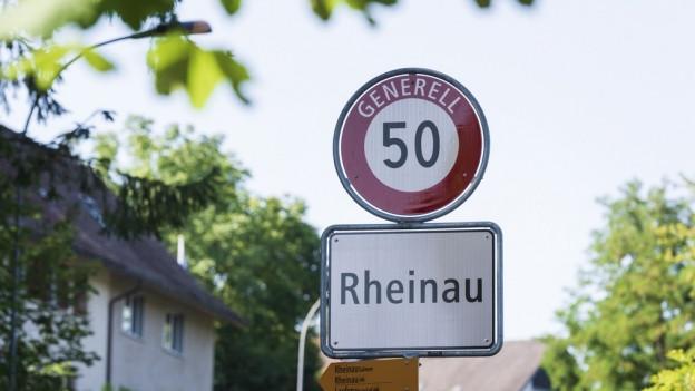 Rheinau liegt im Zürcher Weinland
