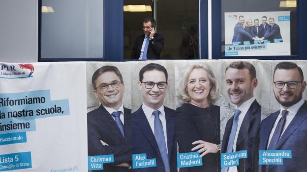 Der Männeranteil im Tessiner Parlament ist immer noch hoch - aber tiefer als früher