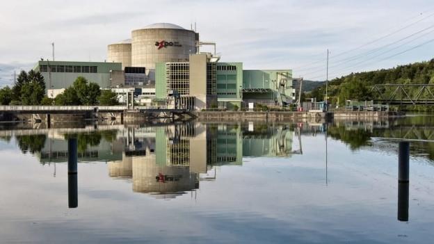 Ansicht des Kernkraftwerks Beznau.