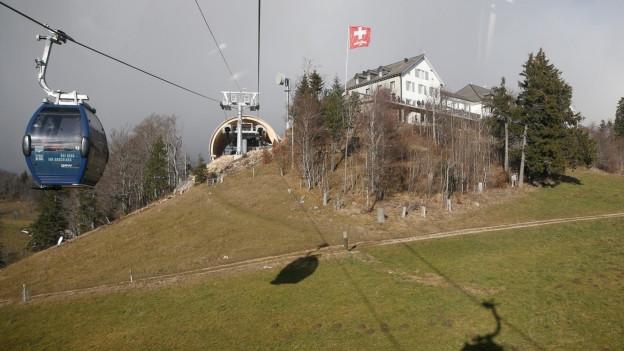 Der Weissenstein ist der Hausberg von Solothurn und eine Kleidermarke