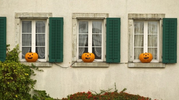 Heute ist Halloween.