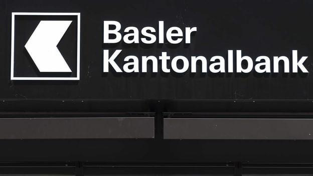 Der Schriftzug der Basler Kantonalbank.