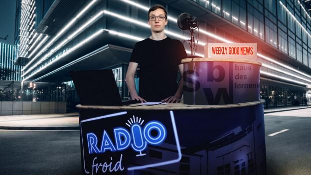 Lösungen für Probleme finden dank Radio «Good News».