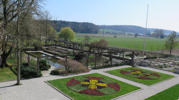 Ein Teil der Gartenbauschule Oeschberg