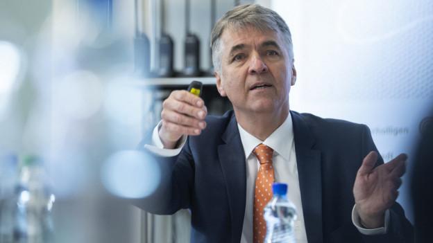 Der Berner Stadtpräsident Alec von Graffenried