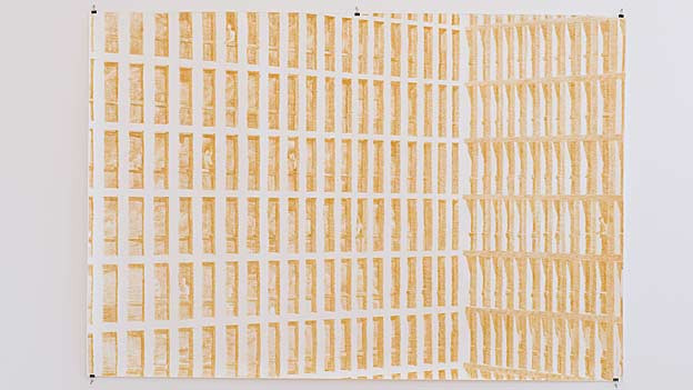 Dieses Werk von Hans Schweizer ist eine «Hommage» an die St. Galler Stadtarchitektur.