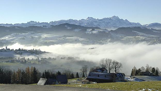 Wer in der Ostschweiz lebt, ist grundsätzlich zufrieden.