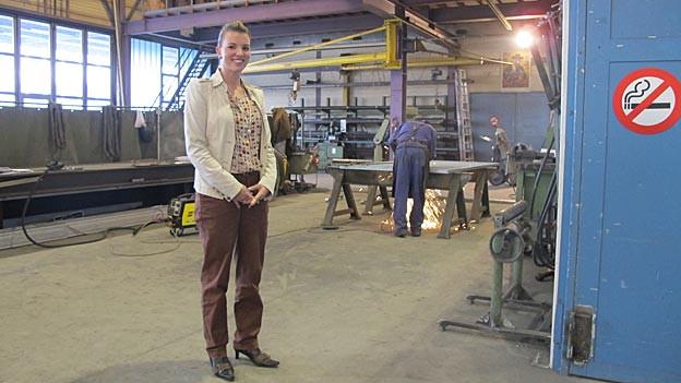 Diana Gutjahr von der Ernst Fischer AG will in Romanshorn bleiben, trotz hohen Lohnkosten.