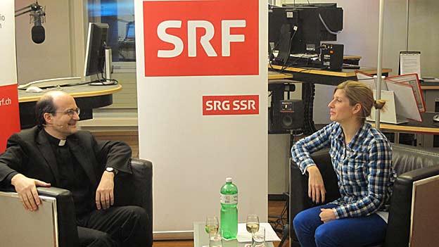 Generlavikar Martin Grichting zu Gast bei Lea Fürer