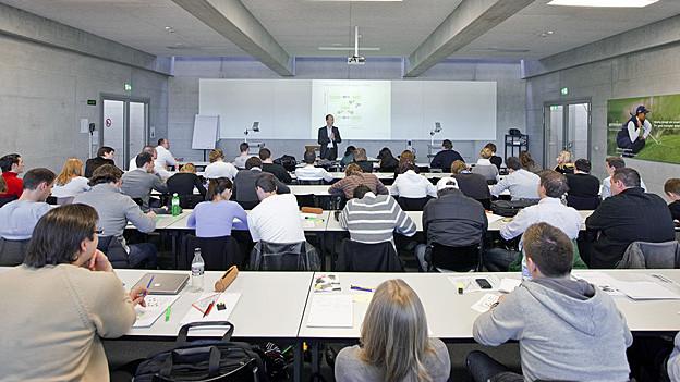 Studierende an der Uni St. Gallen.