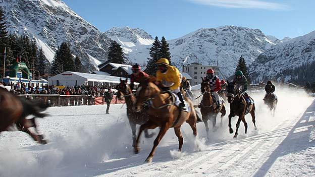 Auch dieses Jahr nicht: Pferderennen sind abgesagt.