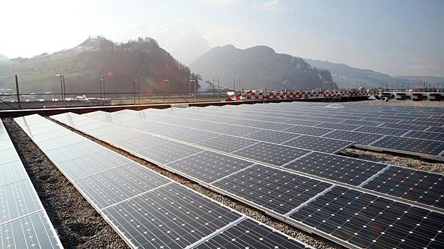 Erneuerbare Energien sollen gefördert werden: Im Grundsatz sind sich die St. Galler SP und die Regierung darin einig.