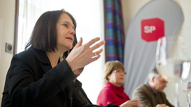 Claudia Friedl wird Nationalrätin und tritt deshalb als St. Galler Kantonsrätin zurück.