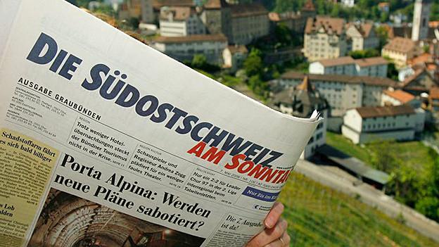 «Die Südostschweiz am Sonntag» und «Der Sonntag» gehen gemeinsame Wege.