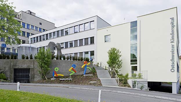 Das Kinderspital in St. Gallen wartet auf einen Ausbau.