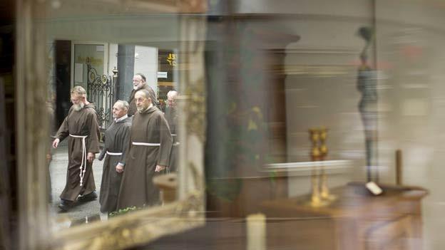 Das Kapuzinerkloster wurde im August 2011 mit einer Prozession geschlossen.