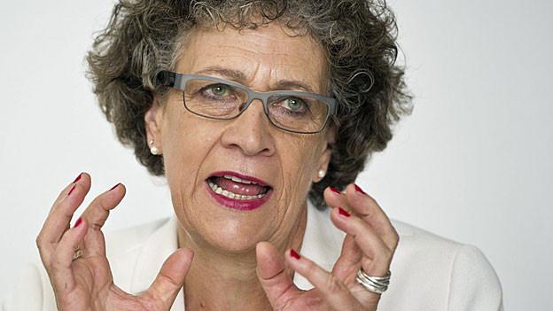 Alt-Regierungsrätin Kathrin Hilber steht erneut in Kritik.