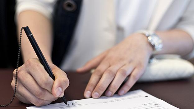 Der Falsche habe den Brief an die Glarner Wirte unterzeichnet. (Symbolbild)
