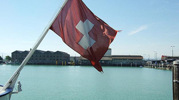 Der reduzierte Fährbetrieb zwischen Romanshorn und Friedrichshafen dauert an.