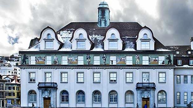 Das Regierungsgebäude in Herisau soll nicht zum «FDP-Haus» werden, finden die anderen Parteien.
