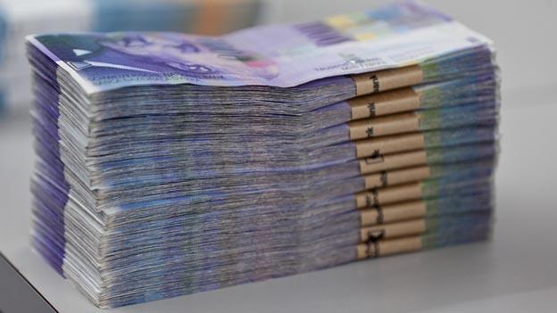 Dem Kanton St. Gallen fehlen in den nächsten Jahren Millionen.