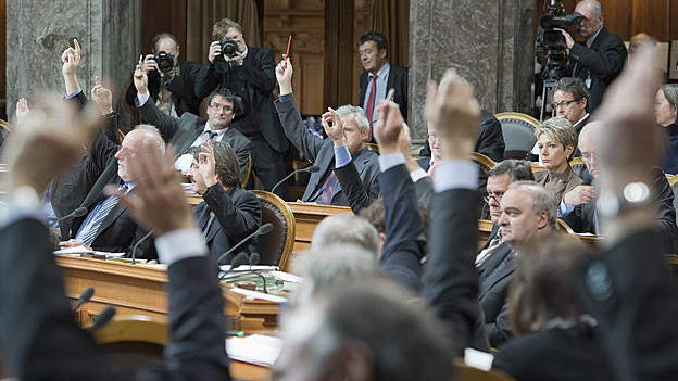 Auch der Ständerat wird in Zukunft elektronisch abstimmen.