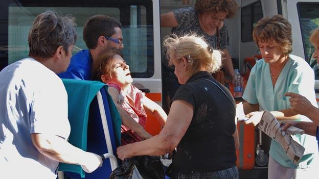 Beim Anschlag in Bulgarien kamen fünf Personen ums Leben.