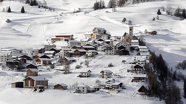 Schmitten möchte nicht zur Gemeinde Albula fusionieren