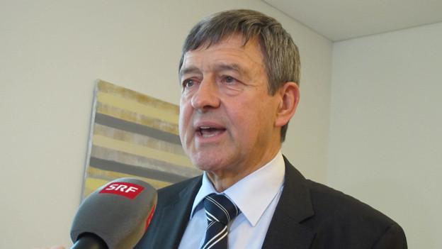 Der St. Galler Baudirektor Willi Haag trennt sich von Maurus Candrian