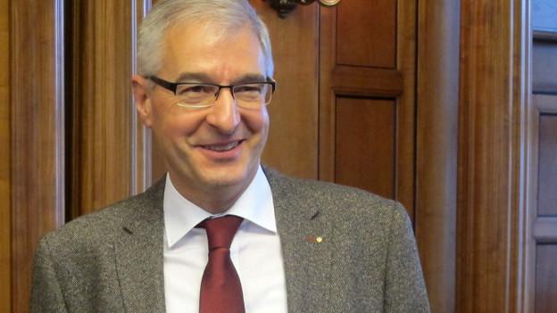 Paul Signer freut sich über seine Wahl in den Ausserrhoder Regierungsrat