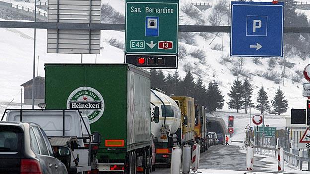 In Hinterrhein soll die Autobahn ausgebaut werden.