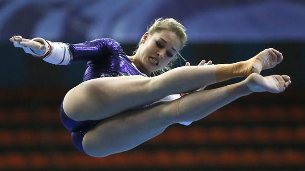 Giulia Steingruber feiert einen weiteren Erfolg