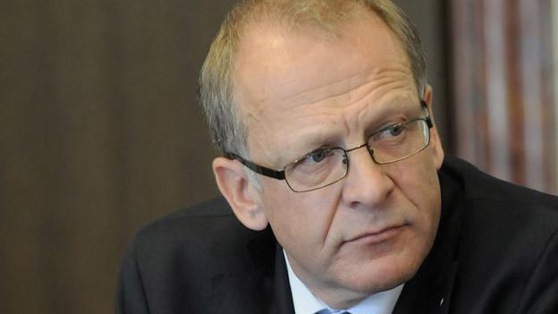 Der St. Galler Regierungsrat Martin Gehrer steht in der Kritik.