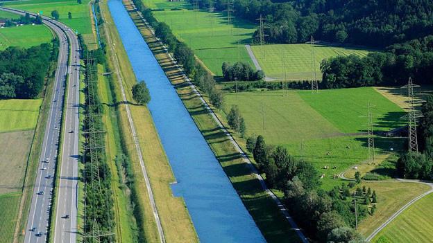Saniert: der Linthkanal