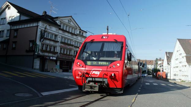 Die Planungsarbeiten für die Durchmesserlinie St. Gallen-Appenzell werden in Angriff genommen.
