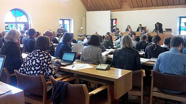 Rund drei Stunden diskutierte das St. Galler Stadtparlament über die Auslagerung der Pensionskasse.