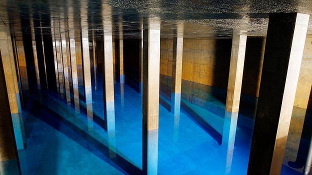 Wasser scheint in der Ostschweiz ein attraktives Diebesgut zu sein
