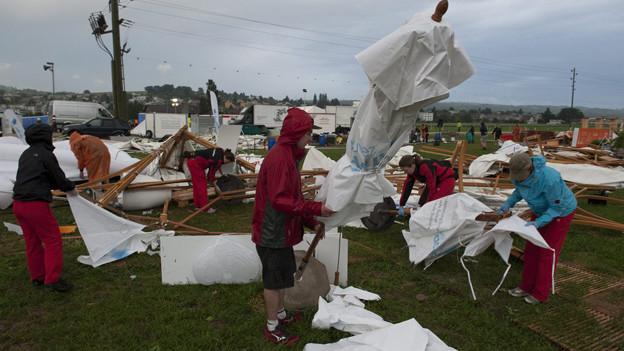 Nach den Unwetterschäden unterstützt der Kanton Thurgau das Turnfest in Biel mit einem Beitrag.