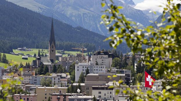 Die Gemeinde Davos hofft, dass die Liegenschaftssteuer im zweiten Anlauf erfolgreich ist.