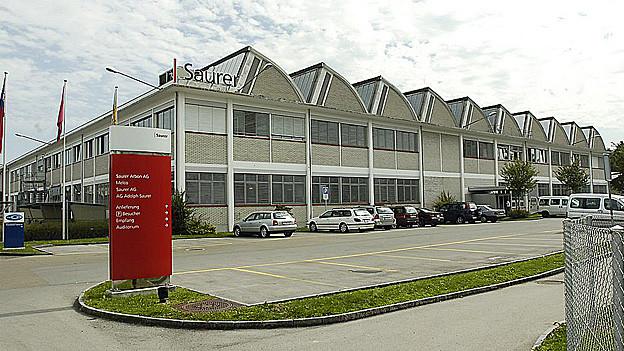 Der Hauptsitz der Saurer-Gruppe ist neu nicht mehr in Arbon (Bild), sondern in Wattwil.