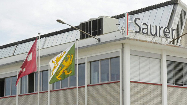 Der Standort von Saurer in Arbon.