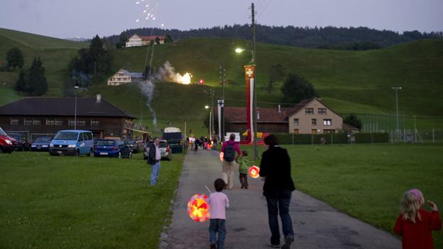 Der 1. August wird zum ersten Mal gemeinsam gefeiert.