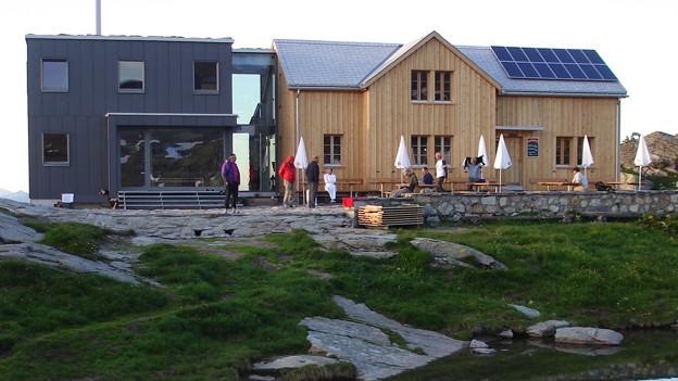 Der Juli war für die Leglerhütte im Glarnerland ein Spitzenmonat.