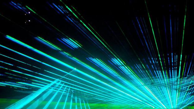 Die Lasershow soll bei der Neuauflage des Seenachtfests als Publikumsmagnet wirken.