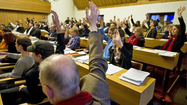 Andere Städte in der Ostschweiz - im Bild St. Gallen - haben bereits ein Stadtparlament.