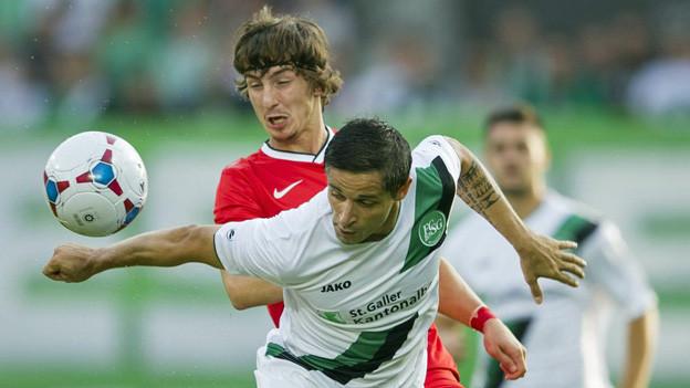 Der FC St. Gallen hat sich mit dem 1:1 im Hinspiel Respekt verschafft.