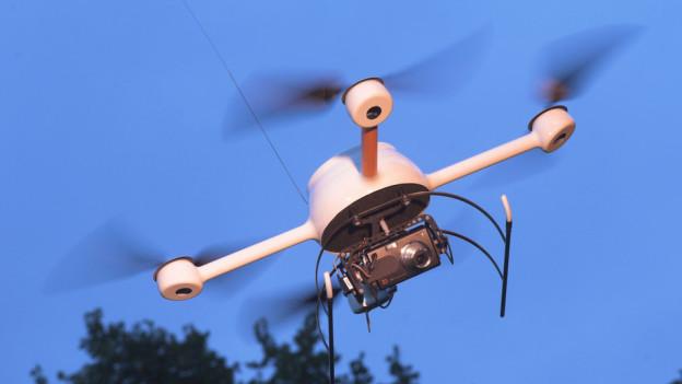 Sechs Deutsche Polizeien arbeiten schon länger mit Mini-Drohnen.