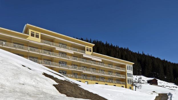 Die Hochgebirgsklinik in Davos muss schliessen.