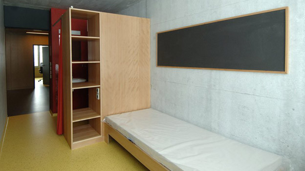 Massnahmezentrum Bitzi: Häftlinge der geschlossenen Anstalt haben zuwenig Platz zum Spazieren.